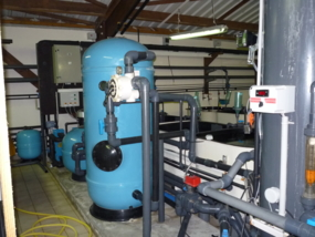 Filtration systems and buffer tanks